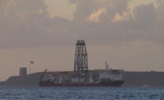 Doğu Akdeniz'e, Türkiye'nin göndereceği gemi Çanakkale Boğazı'nı Geçti