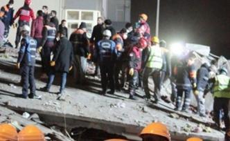 İstanbul Kartal'da 8 katlı bina çöktü: 3 ölü, 12 yaralı