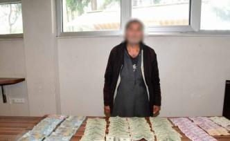 Suriyeli dilencinin üzerinden 3 bin 800 lira, 5 bin 500 dolar, 31 bin Suriye lirası çıktı