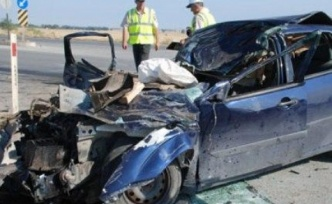 Bu canlara yazık! Trafik kazasında  iki hafta içinde 5 kişi hayatını kaybetti