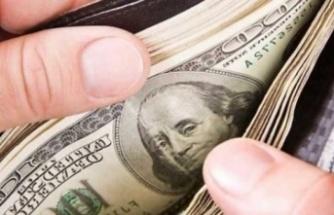 Ercan'da yüklü miktarda parayla yakalandı