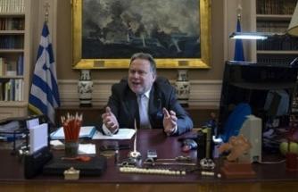 Yunanistan Dışişleri Bakanı Katrugalos: AP'nin Yunan üyelerinin hepsi, müzakerelerin askıya alma kararına karşı oy kullandı