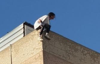 Lefkoşa'da intihara teşebbüs