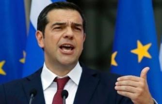 """Tsipras'tan Türkiye'ye gözdağı: """"Sondaj faaliyetini aklından bile geçirme"""""""