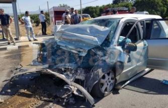 Güneşköy'de ölümlü kaza!