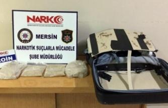 KKTC'ye götürülmek üzere paketlenmiş 3.5 Kg  eroin ele geçirildi