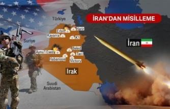 İran İki ABD Üssünü Füzelerle Vurdu