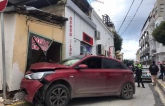 Girne'de kokutan kaza