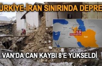 İran'daki 5,9'luk deprem Van'ı vurdu: 8 kişi yaşamını yitirdi