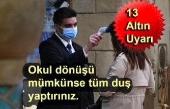 Osman Müftüoğlu'dan corona virüs için korunma yöntemleri
