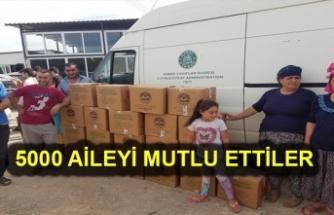 Vakıflardan Bayram İçin 5 Bin Aileye Gıda Yardımı