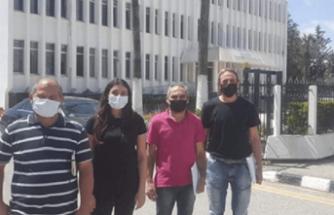 Güneyde çalışan Kıbrıslı Türkler yine eylem yapıyor