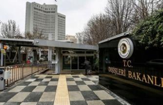TC Dışişleri'nden Irak'a PKK terör örgütü tepkisi