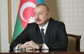 Aliyev: Azerbaycan'ın tek koşulu Ermenistan ordusunun geri çekilmesidir