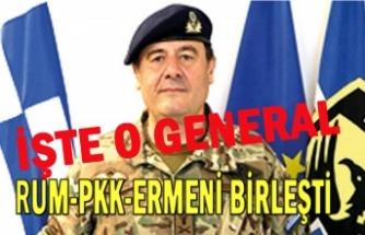 Rum komutan Ermenileri ve PKK'lıları eğitiyor