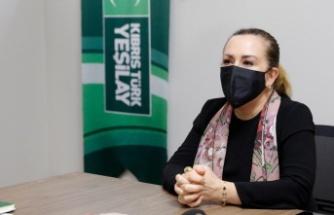 """Cumhurbaşkanı Ersin Tatar'ın eşi Sibel Tatar: """"Salgın Süreci, Sağlığın Önemini Bir Kez Daha Bizlere Hatırlattı """""""