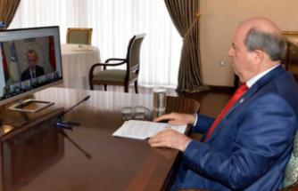 Cumhurbaşkanı Tatar, Ekonomik İşbirliği Teşkilatı 14. Liderler Zirvesi'ne katıldı
