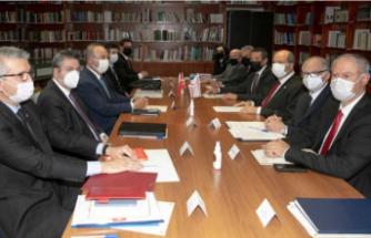 Ersin Tatar – Mevlüt Çavuşoğlu görüşmesi tamamlandı: Heyetler arası görüşmeye geçildi
