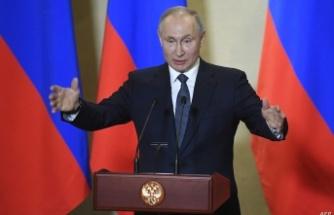 Putin bu kez sert konuştu