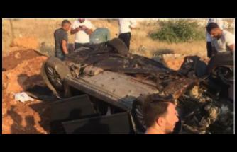 Araç Uçuruma Yuvarlandı, Sürücü Ertesi gün Farkedildi