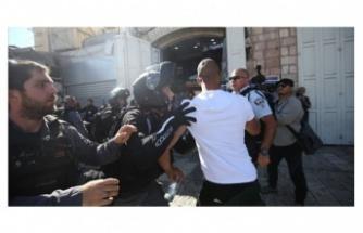 Filistinliler Hz. Muhammed'e Hakarete Sessiz Kalmadı
