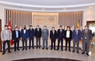 K. T. Belediyeler Birliği, Konya'daki Temaslarını Tamamladı