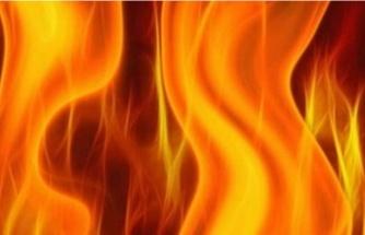 Tuzluca'daki Yangın Korkuttu