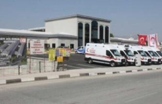 Acil Durum Hastanesi'nde 5 çocuk tedavi görüyor