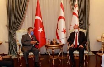 Cumhurbaşkanı Ersin Tatar: KKTC emin adımlarla yoluna devam etmektedir