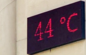 Termometreler 44 dereceyi gösterdi!