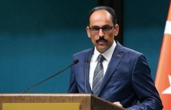 """İbrahim Kalın: """"Kıbrıs'ta iki devletli çözüm desteklenmeli"""""""