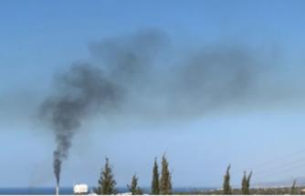 Teknecik'ten yine siyah dumanlar yükseldi