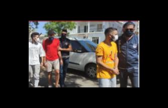 Türkmenköy'de 1 kilo uyuşturucu ile yakalandılar