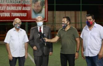 """Cumhurbaşkanı Ersin Tatar: """"Spor, kardeşlik ve dayanışmadır"""""""
