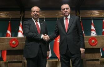 Ersin Tatar: Erdoğan, uluslararası topluma çağrı yaparak bizim sesimiz oldu