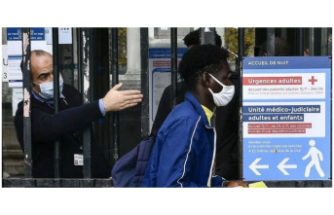Fransa'da, Kovid-19 salgınında son 24 saatte 5 bin 879 yeni vaka!!