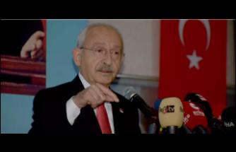"""Kılıçdaroğlu: """"2 yıl içinde tüm sığınmacıları davul ve zurnayla memleketlerine göndereceğim"""""""