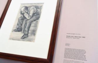 Van Gogh'un yeni keşfedilen çizimi ilk kez Amsterdam'da sergilendi