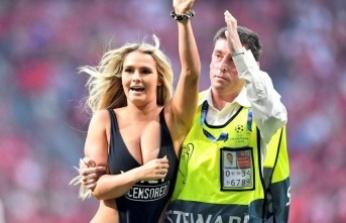 Sahaya mayolu giren Wolanski ve sevgilisinin Copa Amerika planı suya düştü: Yakalanarak hapse atıldılar