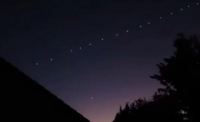 TÜBİTAK'tan açıklama... Gökyüzünde Esrarengiz ışıklar