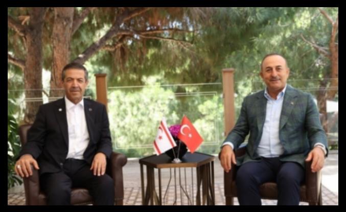 Ertuğruloğlu ve Çavuşoğlu, Antalya'da Görüştü