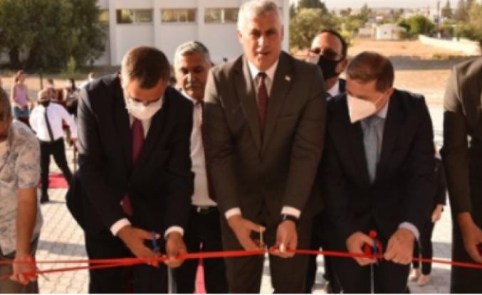 Dikmen  İlkokulu'nda yeni yapılan Okul Öncesi Eğitim Kompleksi'nin açılışı yapıldı