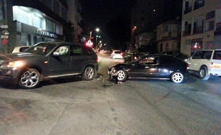 Hafta sonuna girerken yine bir trafik kazası!