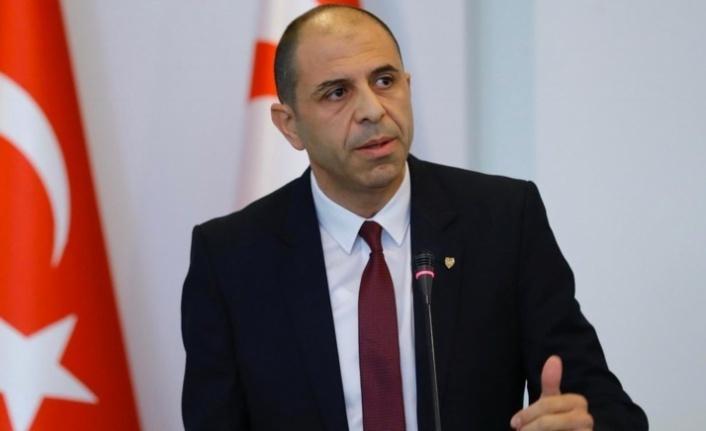 Özersay:Doğu Akdeniz'deki oldubittilere izin vermeyeceğiz