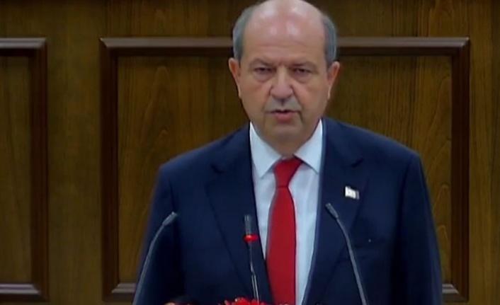 Cumhurbaşkanı Tatar ant içip göreve başladı