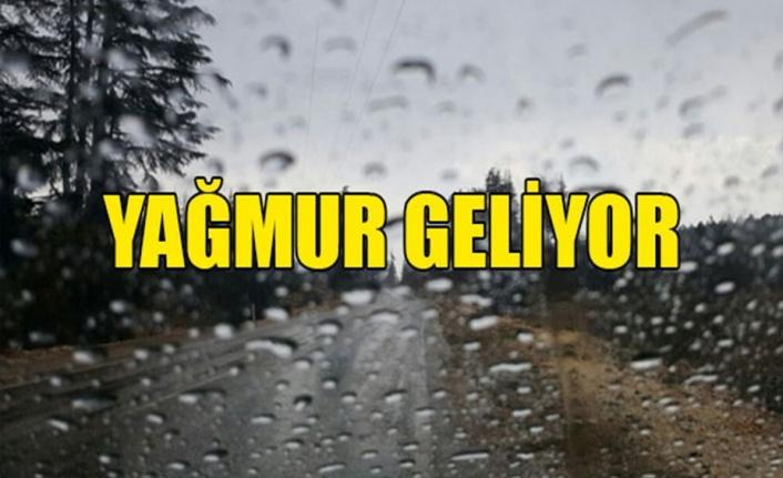 Cuma günü yağmur bekleniyor!