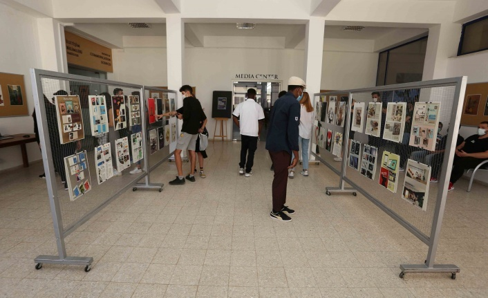 """LAÜ'de """"Yine yeniden yüzyüze"""" öğrenci projeleri sergisi"""